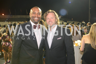 Jason Turner, Rich Amons,  Walk This Way Fashion Charity Event, Kastles Stadium at the Wharf, Photo by Ben Droz.