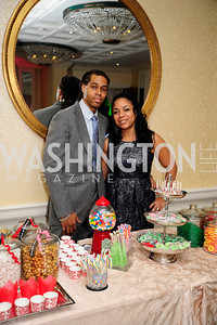 Kamau Donadelle,Christina Donadelle,December 9,2012,Washington Ballet Nutcracker Tea,Kyle Samperton