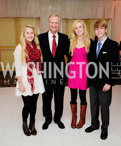 Katherine Evans,Jack Evans,Christine Evans,John  Evans,December 9,2012,Washington Ballet Nutcracker Tea,Kyle Samperton