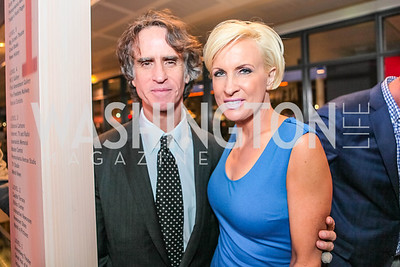Jay Roach, Mika Brzeniski. Washington, DC premiere screening of the HBO Film GAME CHANGE with Julianne Moore‏. The Newseum. March 8, 2012.