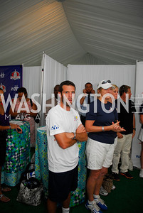 Ben Olsen, Amb. Kathleen Stephens, July 17,2012,Washington Kastles Charity Kick Off,Kyle Samperton