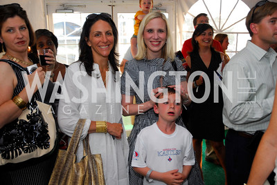 Nicole Elkon, Marne Levine, July 17,2012,Washington Kastles Charity Kick Off,Kyle Samperton