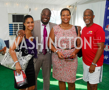 Alexander Caceres,Quincy Both,Gitana Stewart,Paul Quander,July 17,2012,Washington Kastles Charity Kick Off,Kyle Samperton
