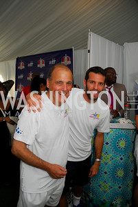 Mark Plotkin, Ben Olsen, July 17,2012,Washington Kastles Charity Kick Off,Kyle Samperton