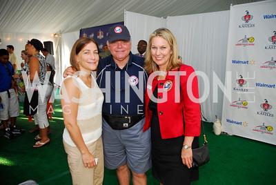 Lisa Kruger,Ron Spratt,Bonnie Carroll,July 17,2012,Washington Kastles Charity Kick Off,Kyle Samperton