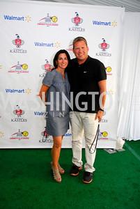 Jennifer Haber,Brent Haber,July 17,2012,Washington Kastles Charity Kick Off,Kyle Samperton