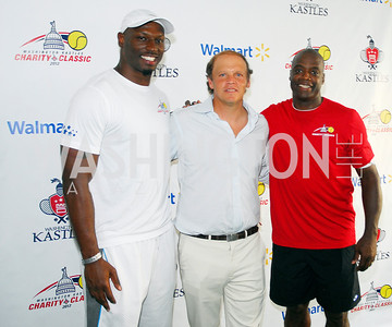 Rocky McItosh,Mark Ein,Darrel Green,July 17,2012,Washington Kastles Charity Kick Off,Kyle Samperton