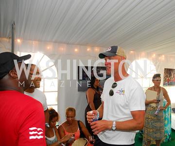 Murphy Jensen, July 17,2012,Washington Kastles Charity Kick Off,Kyle Samperton