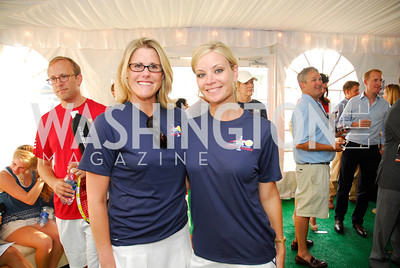 Molly Hooper, Kristen Berset, July 17,2012,Washington Kastles Charity Kick Off,Kyle Samperton