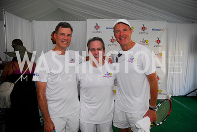 Alan Krueger,Gene Sperling ,Evan Bayh,July 17,2012,Washington Kastles Charity Kick Off,Kyle Samperton