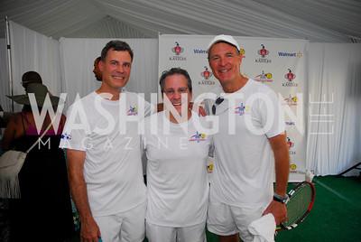 Alan Krueger,Gene Sperling ,Evan Bayh,July 17,2012,Washington Kastles Charity Kick Off,Kyle Samperton