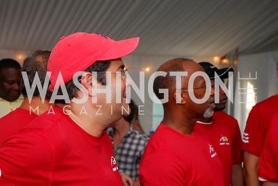 Neal Wolin, Paul Quander, July 17,2012,Washington Kastles Charity Kick Off,Kyle Samperton