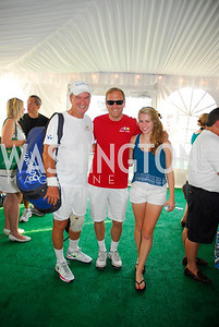 Jonathan Breux,JonathanKarl, Emily Karl,July 17,2012,Washington Kastles Charity Kick Off,Kyle Samperton