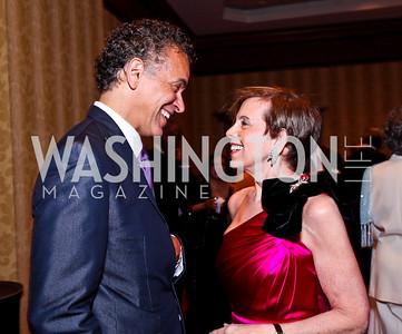 Brian Stokes Mitchell, Adrienne Arsht. WPAS Gala. Photo by Tony Powell. Marriott Wardman Park. April 21, 2012