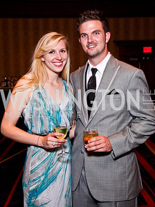 Sally Howard, Tyler Gates. WPAS Gala. Photo by Tony Powell. Marriott Wardman Park. April 21, 2012