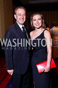 Mexican Amb. Arturo Sarukhan and sister-in-law Paulina Valencia. WPAS Gala. Photo by Tony Powell. Marriott Wardman Park. April 21, 2012