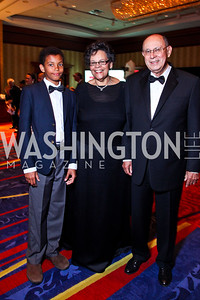 EJ Jarvis and Charlene Drew Jarvis, DeMaurice Moses. WPAS Gala. Photo by Tony Powell. Marriott Wardman Park. April 21, 2012
