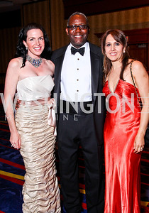 Veronica and Jake Jones, Maria Gonzalez. WPAS Gala. Photo by Tony Powell. Marriott Wardman Park. April 21, 2012