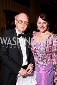 Sam Dawson, Rachel Pearson. WPAS Gala. Photo by Tony Powell. Marriott Wardman Park. April 21, 2012