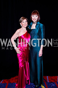 Adrienne Arsht, Karen Aker. WPAS Gala. Photo by Tony Powell. Marriott Wardman Park. April 21, 2012
