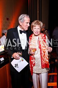 Sidney Werkman and Bitsey Folger. WPAS Gala. Photo by Tony Powell. Marriott Wardman Park. April 21, 2012