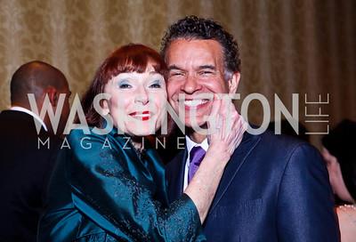 Karen Aker, Brian Stokes Mitchell. WPAS Gala. Photo by Tony Powell. Marriott Wardman Park. April 21, 2012