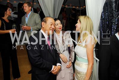 Amb.Ichiro Fujisaki,Yoriko Fujisaki,Jane Cafritz,.September 8,2012, Welcome Back From Summer,Kyle Samperton