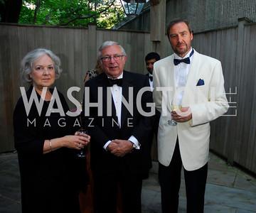 Janet Steger,Charles Steger,Christophe Von Arb,September 15,2012,Wolf Trap Gala,Kyle Samperton