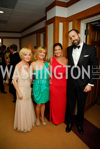 Cathy Rigby,Maureen Sanders,Sara Jaffe,David 0stroff,September 15,2012,Wolf Trap Gala,Kyle Samperton
