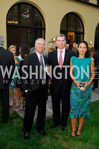 Amb.Rachad Bouhal,Amb.Felipe Bulnes,Monica Bulnes,May 30,2012, YOA Orchestra of the Americas 10th Anniversary Gala,Kyle Samperton