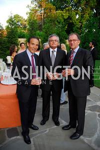 Ricardo Ernst,Moises Naim,Antoine Van Agtmael,May 30,2012, YOA Orchestra of the Americas 10th Anniversary Gala,Kyle Samperton