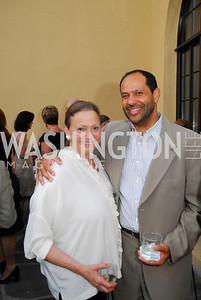 Lizette Coro,Chris Cowan,May 30,2012, YOA Orchestra of the Americas 10th Anniversary Gala,Kyle Samperton