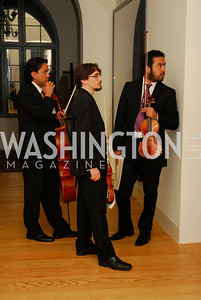 Aristedes Rivas,,Santigo Osorio,Rafael Galvan-Herrera,May 30,2012, YOA Orchestra of the Americas 10th Anniversary Gala,Kyle Samperton