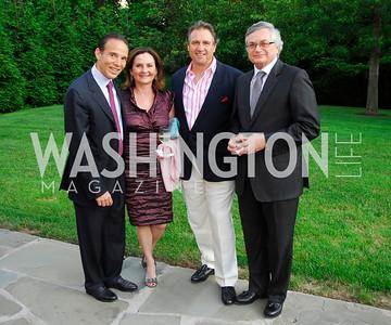 Ricardo Ernst,Susana Naim,Arturo Brillembourg,Moises Naim,May 30,2012, YOA Orchestra of the Americas 10th Anniversary Gala,Kyle Samperton