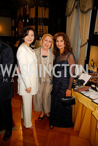 Keiko Kaplan,Gilan Corn,Sheila Saleh,March 20,2012,Young  Concert Artists Gala Dinner At The Embassy Of Indonesia,Kyle Samperton