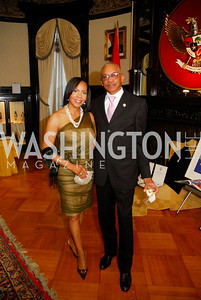 Carmen Shippy,John Shippy,March 20,2012,Young  Concert Artists Gala Dinner At The Embassy Of Indonesia,Kyle Samperton