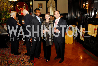 Terrance Mason,Irene Roth,Anthony DiResta,March 20,2012,Young  Concert Artists Gala Dinner At The Embassy Of Indonesia,Kyle Samperton