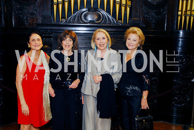 Susan Wadsworth ,Didi Cutler,Gilan Corn,Mary Mochary,March 20,2012,Young  Concert Artists Gala Dinner At The Embassy Of Indonesia,Kyle Samperton