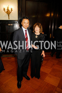 Ambassador Dino Djalal,Didi Cutler,March 20,2012,Young  Concert Artists Gala Dinner At The Embassy Of Indonesia,Kyle Samperton
