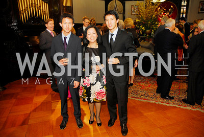 Justin Halim,Judy Halim,Julian Halim,March 20,2012,Young  Concert Artists Gala Dinner At The Embassy Of Indonesia,Kyle Samperton