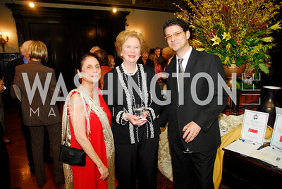 Susan Wadsworth ,Elise Kirk,Norbert Barlocher,March 20,2012,Young  Concert Artists Gala Dinner At The Embassy Of Indonesia,Kyle Samperton