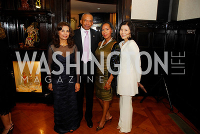 Shelia Saleh,John Shippy,Carmen Shippy,Keiko Kaplan,March 20,2012,Young  Concert Artists Gala Dinner At The Embassy Of Indonesia,Kyle Samperton