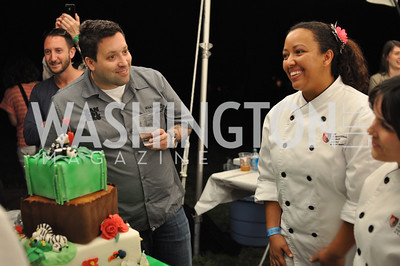Mike Isabella, Zoofari at the National Zoo.  May 17, 2012.  Photo by Ben Droz