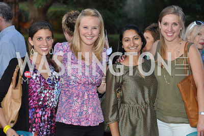 Rebecca Schwartz, Courtney Whitlow, Sapna Khatvi, Katharine Ragsdale . Zoofari at the National Zoo.  May 17, 2012.  Photo by Ben Droz