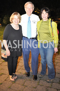 Amy Lamb, Robert Lamb, Robyn Kravit.  Zoofari at the National Zoo.  May 17, 2012.  Photo by Ben Droz