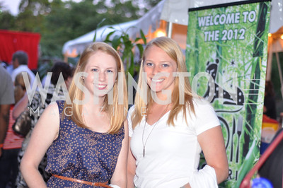 Emily and Jamie Kuntz.  Zoofari at the National Zoo.  May 17, 2012.  Photo by Ben Droz