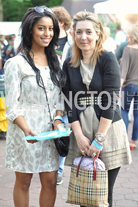 Nihal Qutub, Sandra Holley. Zoofari at the National Zoo.  May 17, 2012.  Photo by Ben Droz