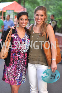 Rebecca Schwartz, Katharine Ragsdale, Zoofari at the National Zoo.  May 17, 2012.  Photo by Ben Droz
