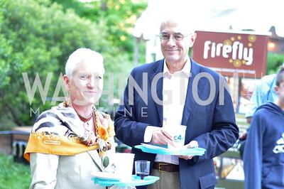 Karen Monaghan, Mark Bellamy. Zoofari at the National Zoo.  May 17, 2012.  Photo by Ben Droz