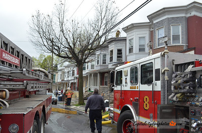 Saturday, March 31, 2012 - Harrisburg, PA - Firefighters quickly knocked down a bedroom fire in an occupied, row home on S. 16th Street this afternoon. The residents escaped safely and no injuries were reported.